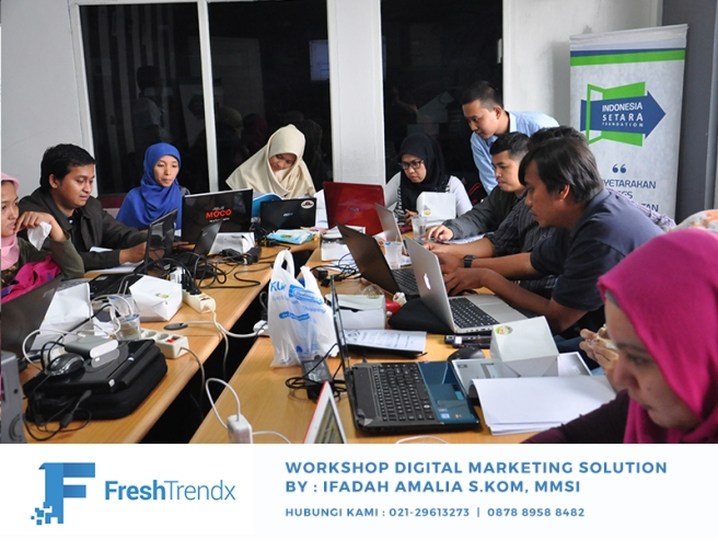 Kursus Wirausaha Online Shop di Bekasi