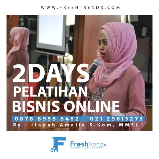 Pelatihan Wirausaha Berbasis Online Belajar Bisnis di Bogor