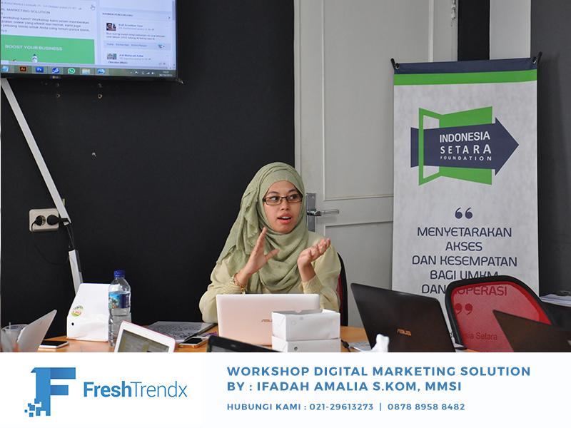 Pelatihan Wirausaha Berbasis Online di Depok