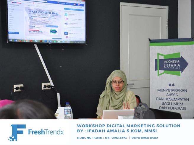 Pelatihan Wirausaha Bisnis Online di Bekasi