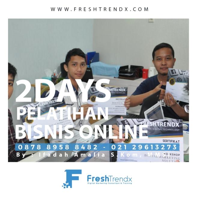 Pelatihan Wirausaha Online di Bogor